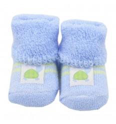 Medias para bebé prematuro - azul