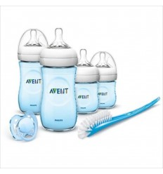Set Avent de 6 piezas para recién nacidos- Azul