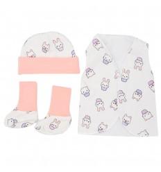 Set de ropa UCI para bebé prematura - Cupcakes
