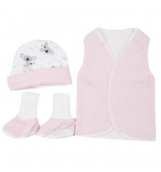 Set de ropa UCI para bebé prematura-Koalas