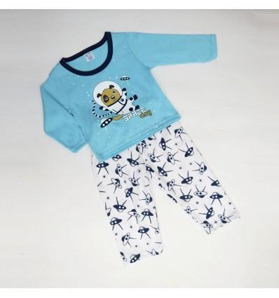 Pijama perrito espacial