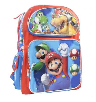 Maleta mediana para niño - Mario y Luigi