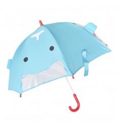 Sombrilla para niños diseño ballena- Azul
