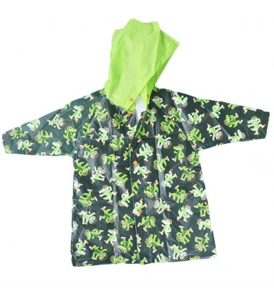 Abrigo impermeable para la lluvia-Cocodrilo