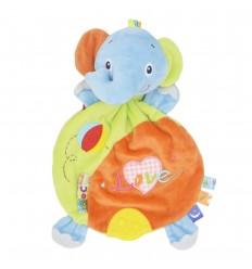 Muñeco de apego para bebé - Elefante