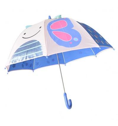 Sombrilla para niños diseño de mariposa