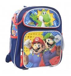Maleta pequeña para niño Mario Bros