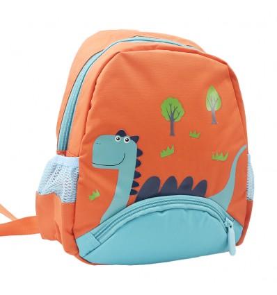 Maleta pequeña Dinosaurio Naranja