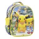 Maleta pequeña para niño Pokemon amarilla