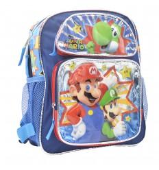 Maleta pequeña para niño Mario - Azul
