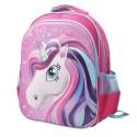 Maleta mediana para niña Unicornio 3D