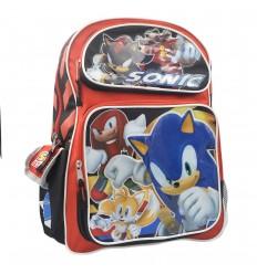 Maleta grande para niño - rojo Sonic