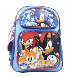 Maleta grande para niños - Azul Sonic
