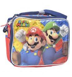 Lonchera para niño - Mario Bros Rojo