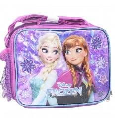 Lonchera para niña - Frozen en relieve