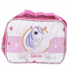 Lonchera para niña - Unicornio - Rosa