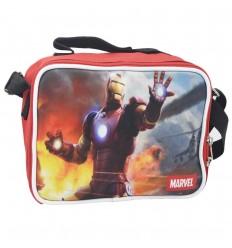 Lonchera para niño - Iron man Rojo
