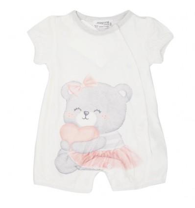 Mameluco mayoral para bebé niña - Osita
