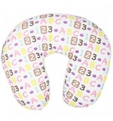 Almohada de lactancia - números y letras