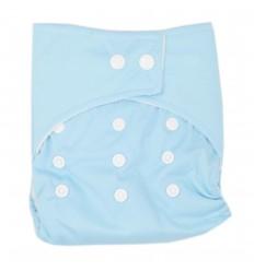 Pañal ecológico para bebé- Azul claro