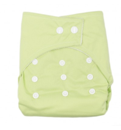 Pañal ecológico para bebé- Verde Manzana