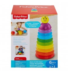 Tazas de actividades de colores -Fisher-price