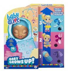 Bebé que crece - baby crows up- Azul