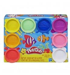 Plastilina x8 unidades Play Doh