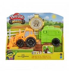 Plastilina x3 Play-doh Wheels Tractor