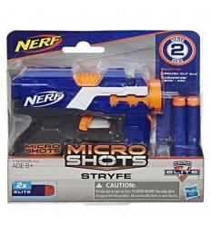 Nerf Microshots con 2 balas -Azul naranja