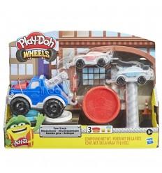 Play-Doh wheels- Camión Grua