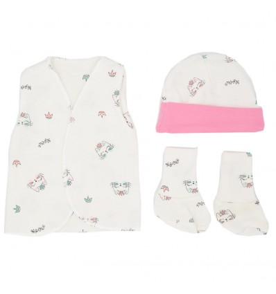 Set de ropa UCI para bebé prematura- Gaticas