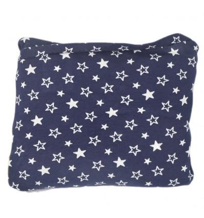 Fular cargador para el bebé - Estrellas Azul oscuro