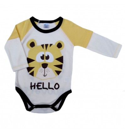 Body para bebé tigre