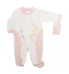 Pijama enteriza para bebé - coneja