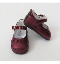 Zapato vino tinto No turce - Niña