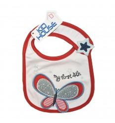 Babero para bebé - Mariposa