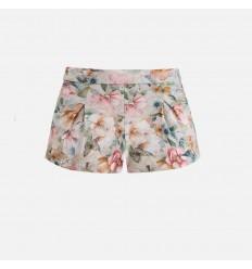 Falda - Pantalón Flores