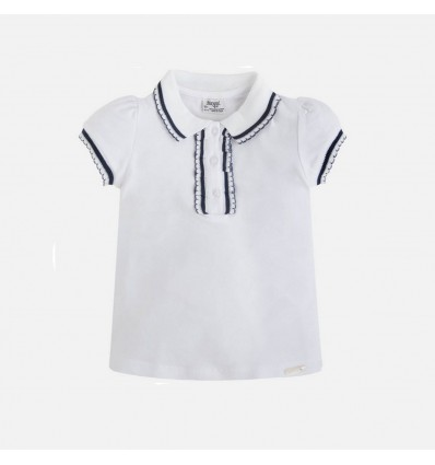 Camisa blanca para niña