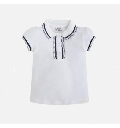ventas calientes 66ce9 35d60 Camisa blanca para niña