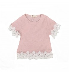 Blusa bordada para niña