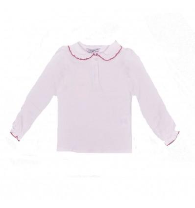Camiseta blanca para niña