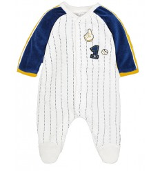 pijama para bebé niño mayoral - rayas azul