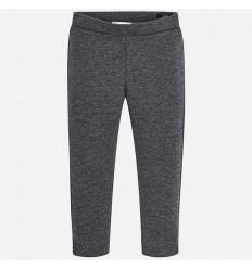 pantalon para niña - lunares gris