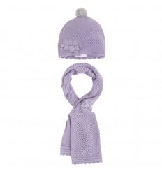 Gorro y bufanda para bebé