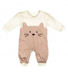 Mameluco para bebé rosado