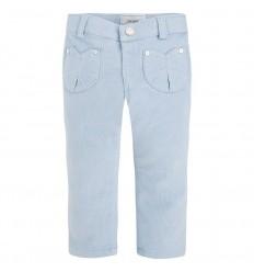 Pantalon azul escarchado