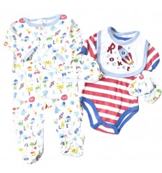 Primera muda de bebé - 5 piezas astronauta