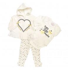 conjunto-para-bebe-niña-corazon-beige