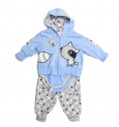 conjunto-para-bebe-niño-koala-azul